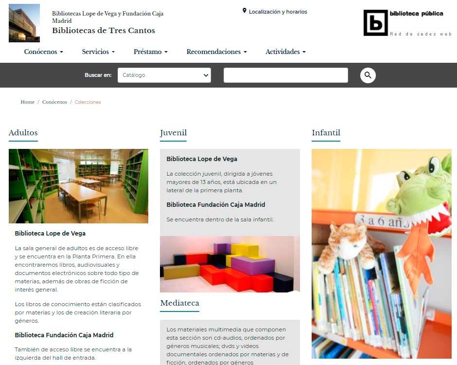 Bibliotecas de Tres Cantos