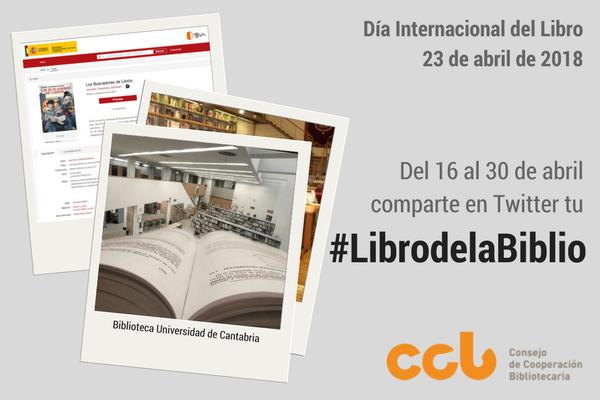 cartel noticia campaña #LibrodelaBiblio