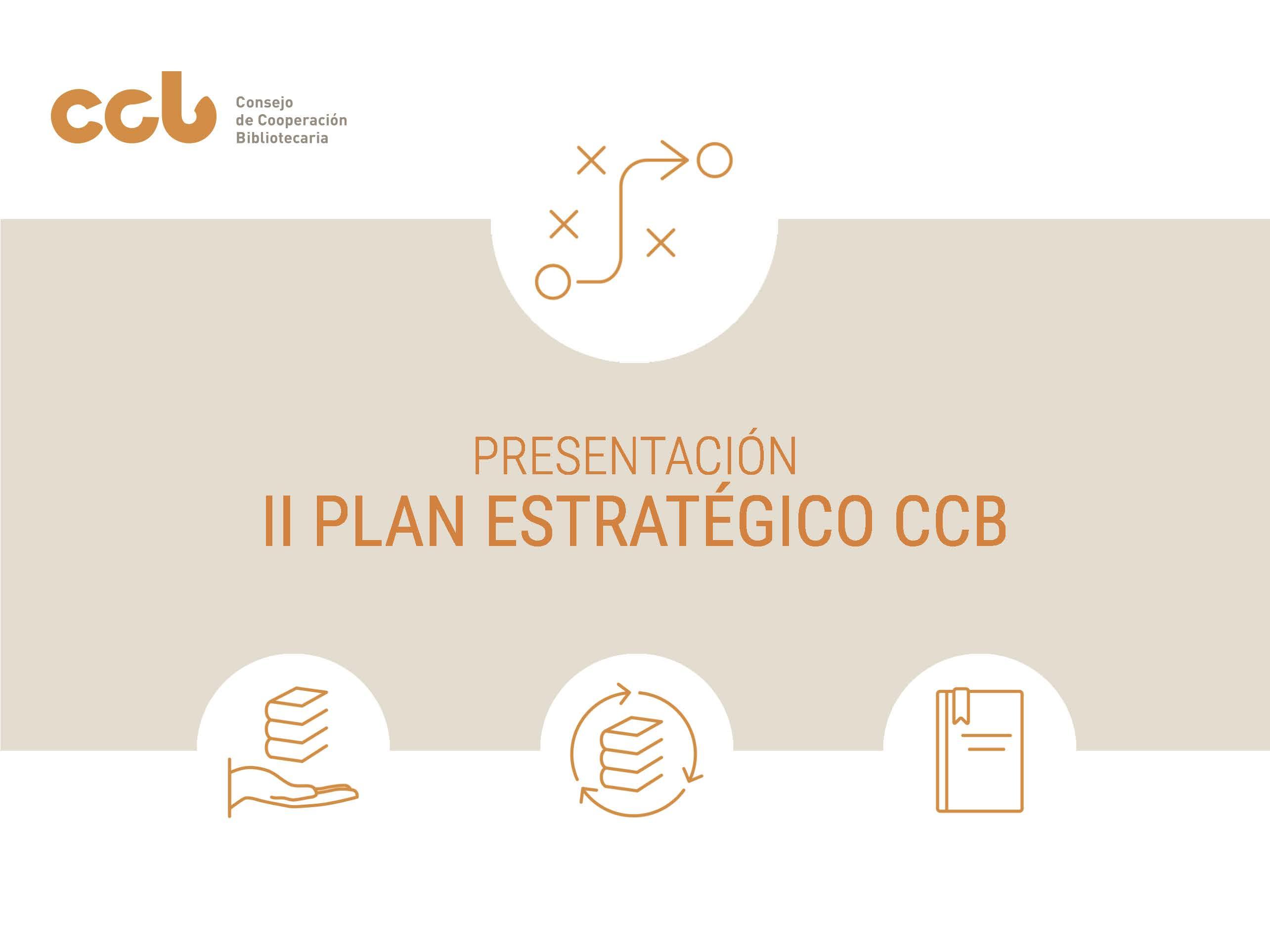 Presentación del II Plan Estratégico del CCB - Página 1