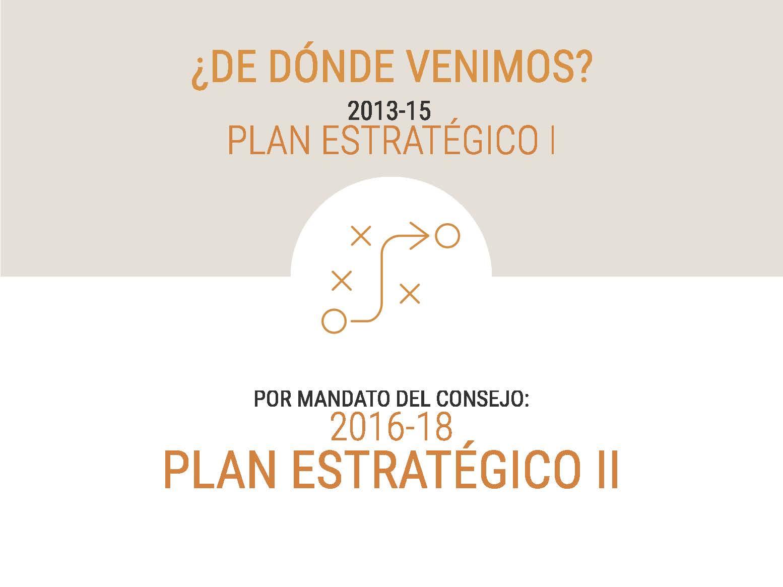 Presentación del II Plan Estratégico del CCB - Página 3