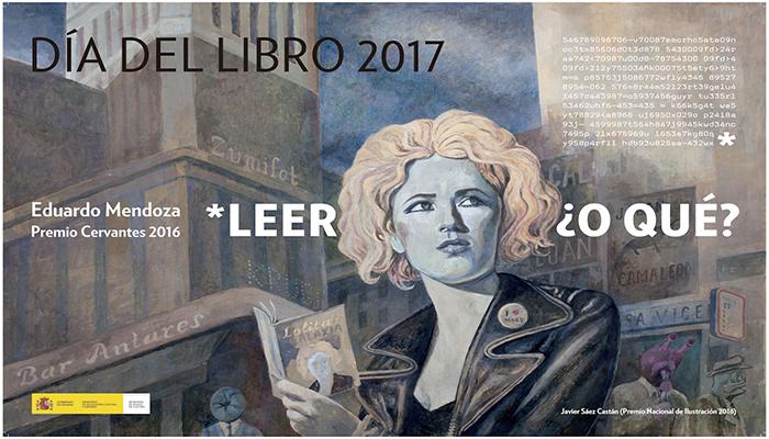 Cartel Día del libro 2017