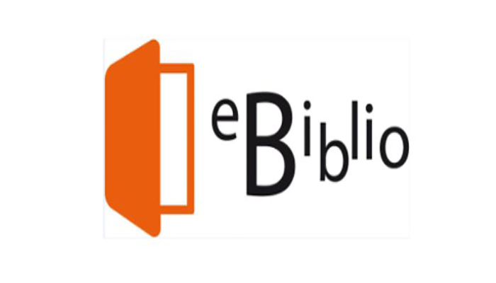 Logo eBiblio préstamo de libros electrónicos