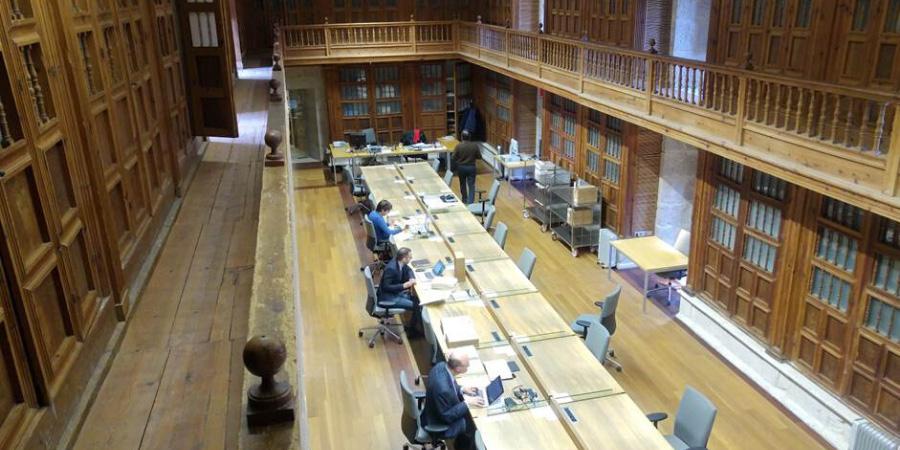 Biblioteca del Archivo General de Simancas. Valladolid