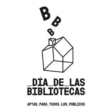 DiaDeLasBibliotecas logo blanco