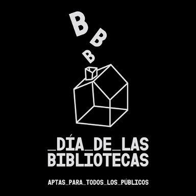 DiaDeLasBibliotecas logo negro