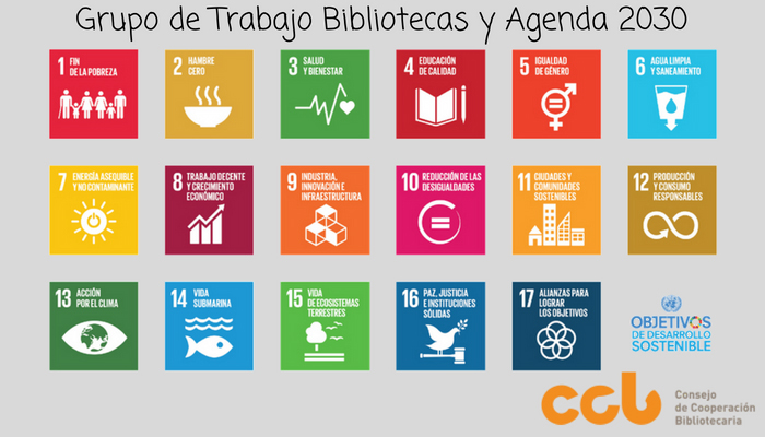Grupo de trabajo Bibliotecas Agenda 2030