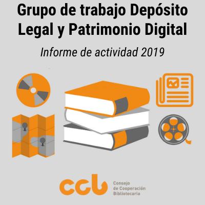 Grupo de Trabajo de Depósito Legal y Patrimonio Digital