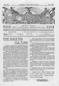Manifiesto 1921 Castropol