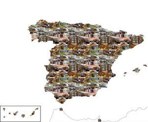 Mapa de bibliotecas especializadas