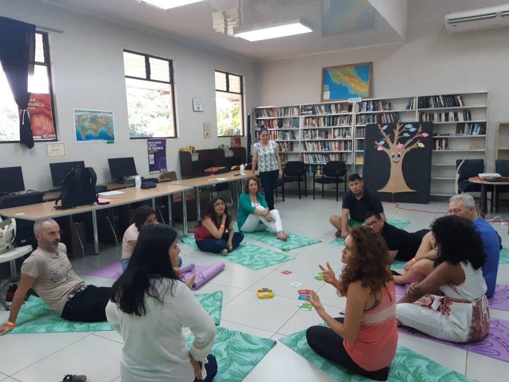 T´cnicas e animación a la lectura en la biblioteca pública de Garabito