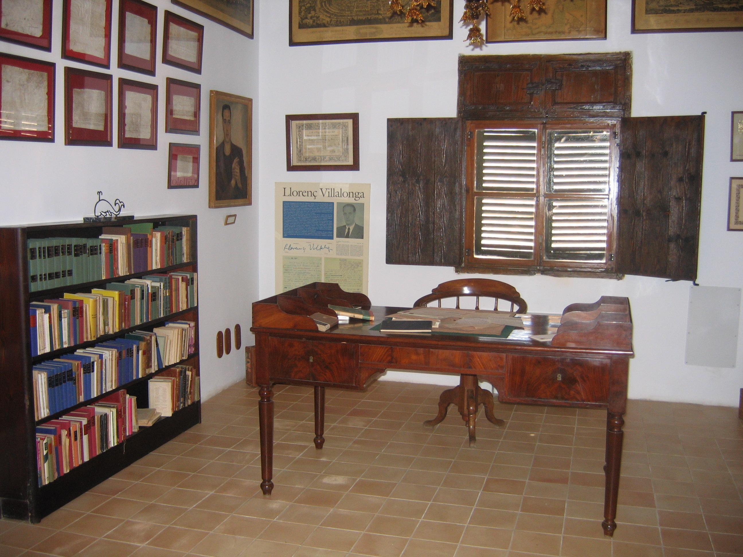 Casa Llorenc Villalonga (Museu Literari). Illes Balears