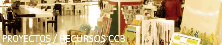 Banner de la sección Proyectos/Recursos CCB