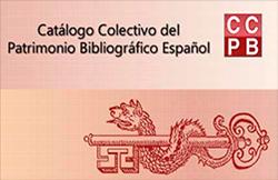 Logo de Catálogo Colectivo del Patrimonio Bibliográfico Español