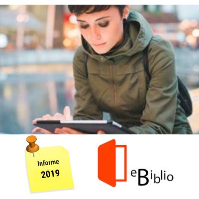 El préstamo de contenidos digitales en eBiblio se multiplica por 7 en 5 años