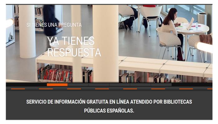 """Aumentan en 2017 las consultas atendidas a través del Servicio de Referencia Virtual """"Pregunte, las bibliotecas responden"""""""