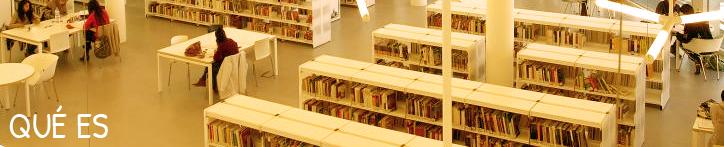 Imagen de página Qué es de la web del Consejo de Cooperación Bibliotecaria