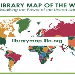 Library map of the world IFLA