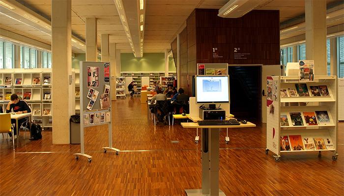 Imagen biblioteca. Plan Estratégico 2016-2018